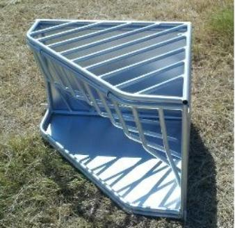 678 00 For Big Bale Round Bale Hay Feeder With 4x4 Wire