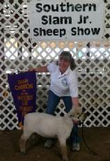 Sheepfields Rambaaler shown by Diane Spisak