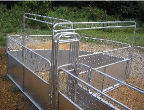 Below Are Different Options To Setting Up A Working System Behind Your Goat Master Chute